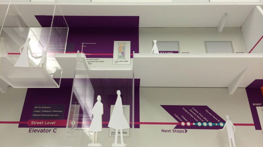 Wayfinding Design for Memorial Sloan Kettering Cancer Center
