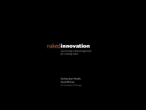 Naked Innovation cover