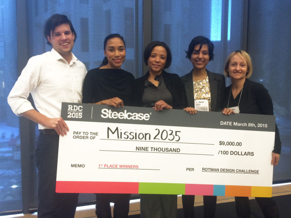 Rotman design Challenge 2015 winners