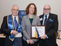 Irene Loomis inducted into Beta Gamma Sigma